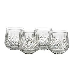 Waterford® Lismore Set of 4 Old Fashioned Glasses + FREE BONUS GIFT see offer details