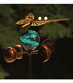 Echo Valley® Illuminarie Butterfly Anemometer Stake