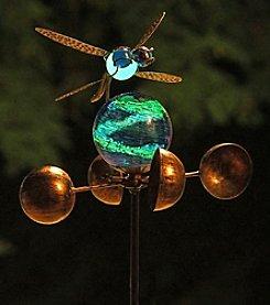 Echo Valley® Illuminarie Dragonfly Anemometer Stake