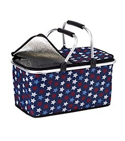 LivingQuarters Americana Insulated Tote