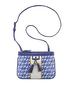 Nine West® Printed Square 9's Crossbody Bag