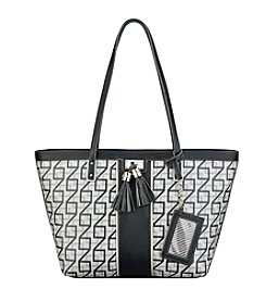 Nine West® Printed Square 9's Tote