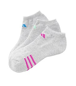 adidas® 3 Pack Climalite Cushion No Show Socks