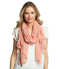 Basha® Crochet Border Neckwrap