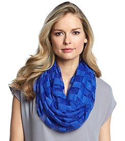 Cejon® Striped Burnout Shimmer Scarf