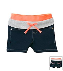 Squeeze® Girls' 2T-6X Knit Waist Shorts