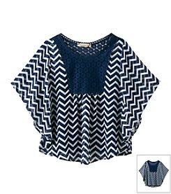Speechless® Girls' 7-16 2-Piece Lace Collar Top