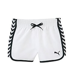 PUMA® Girls' 4-6X Chevron Shorts