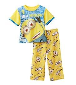Despicable Me® Boys' 2T-10 2-Piece Minion Pajama Set