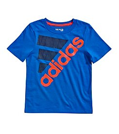 adidas® Boys' 2T-7X Short Sleeve Shock Tee