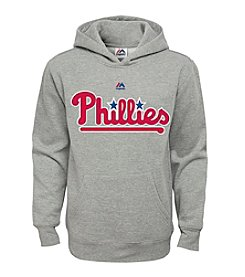 Majestic Boys' 8-20 Philadelphia Phillies Fleece Hoodie