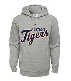 Majestic Boys' 8-20 Detroit Tigers Fleece Hoodie
