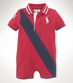 Ralph Lauren Childrenswear Baby Boys' Mesh Shortall