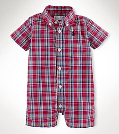 Ralph Lauren Childrenswear Baby Boys' Woven Shortall