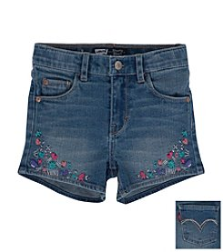 Levi's® Girls' 2T-6X Embellished Shorts