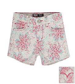 Levi's® Girls' 2T-6X Love Floral Shorts