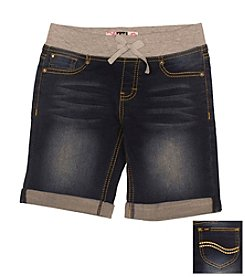 Lee® Girls' 7-16 Pull On Bermuda Shorts