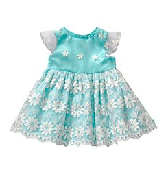 Sweet Heart Rose® Girls' 4-6X Fluttersleeve Lace Dress