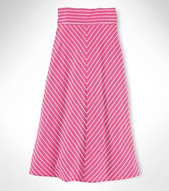Chaps® Girls' 7-16 Multi Striped Maxi Skirt