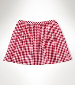 Ralph Lauren Childrenswear Girls' 2T-6X Gingham Skirt