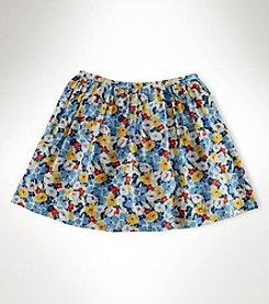 Ralph Lauren Childrenswear Girls' 2T-16 Floral Skirt