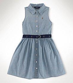 Ralph Lauren Childrenswear Girls' 2T-16 Multi Shirtdress