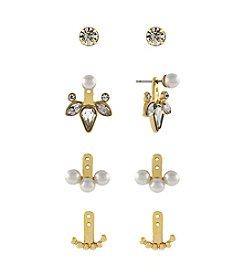 BCBGeneration™ Goldtone Classic Earrings Jacket Kit