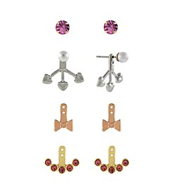 BCBGeneration™ Two Tone Girly Earrings Jacket Kit
