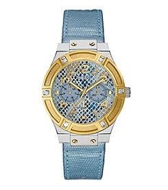 GUESS Women's Two-Tone Standout Style and Sparkle Watch
