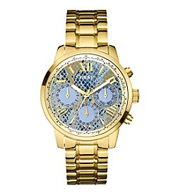 GUESS Women's Goldtone Feminine Sport Watch