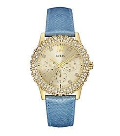 GUESS Women's Goldtone Shimmering Sport Watch
