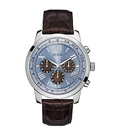 Guess Women's Silvertone Classic Sport Chronograph Watch