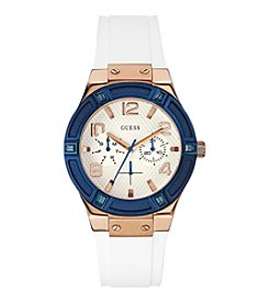 Guess Women's Goldtone Standout Style and Sparkle Watch