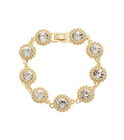 Napier® Goldtone Bracelet in Gift Box