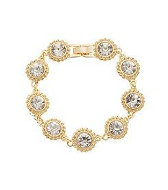 Napier® Goldtone Bracelet in Gift Box