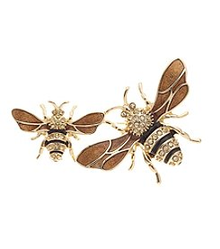 Napier® Goldtone Bee Pin in Gift Box