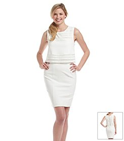 XOXO® Crochet Lace Popover Sheath Dress