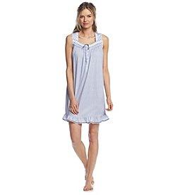 Aria® Navy Stripe Sleep Gown