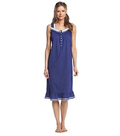 Aria® Navy Dot Ballet Sleep Gown