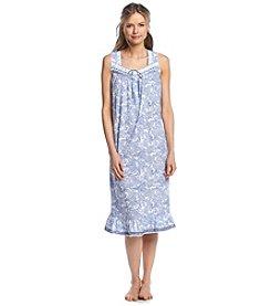Aria® Paisley Ballet Sleep Gown