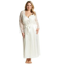 Flora Nikrooz Plus Size Heaven Lace Robe