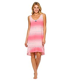 Ellen Tracy® Striped Sleeveless Knit Chemise