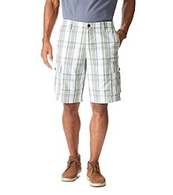Dockers® Men's Vertiver Flat Front Plaid Cargo Shorts