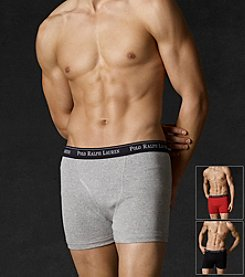 Polo Ralph Lauren® Men's 3 Pack Assorted Boxer Briefs