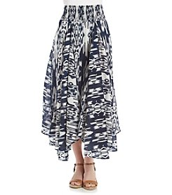 Chelsea & Theodore® Broomstick Printed Skirt