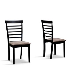 Baxton Studios Jet Cheer Set of 2 Dining Chairs