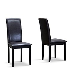 Baxton Studios Fallabella Set of 2 Dining Chairs
