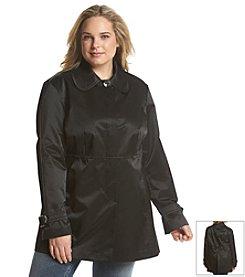 Jones New York® Plus Size Single-Breasted A-Line Walker
