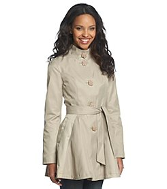 Betsey Johnson® High-Low Trench Coat