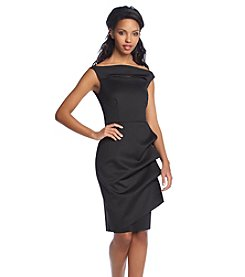 Xscape Ruched Scuba Dress